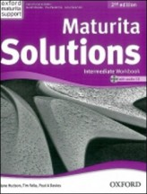 Maturita Solutions Intermediate 2 Ed. Workbook with Audio CD PACK Czech Edition