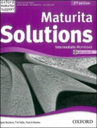 Maturita Solutions Intermediate 2 Ed. Workbook with Audio CD PACK Czech Edition - Tim Falla; P.A. Davies