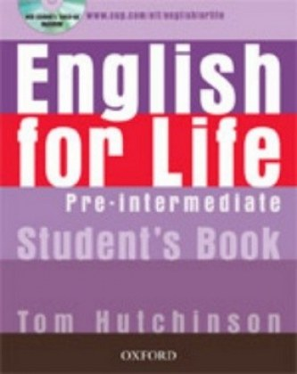 English for life Pre-Intermediate Studen´s book + MultiROM Pack
