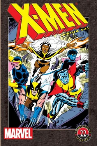 X-Men (kniha 4) - Comicsové legendy 22 - Chris Claremont