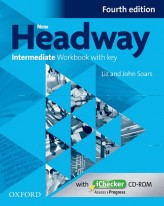 New Headway Intermediate Workbook with Key Fourth Edition + iChecker CD-rom