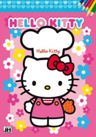 Omalovánka Hello Kitty