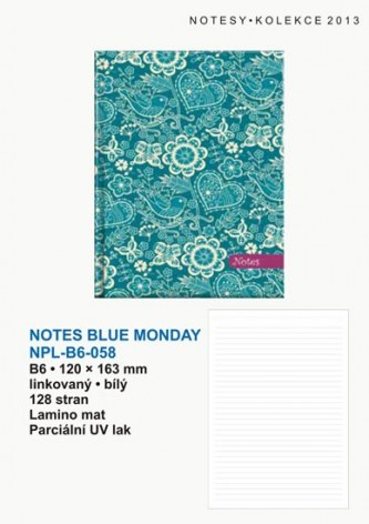Notes Blue Monday