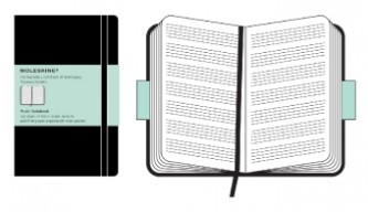 Moleskine Noten-Notizbuch (Pentagram Notebook)