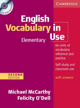 English Vocabulary in Use Elementary CD