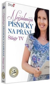 Písničky na přání TV Šlágr - CD+DVD