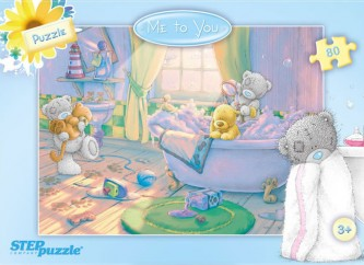 Puzzle 80 Me to You - Myjeme se - neuveden