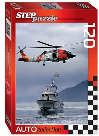 Puzzle 120 Auto Collection - Helicopter