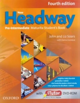 New Headway Pre-Intermediate Maturita Fourth Edition Student´s Book + iTutor DVD - John Soars; Liz Soars