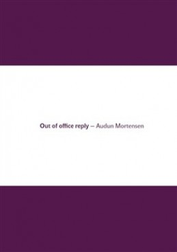 Out of office reply