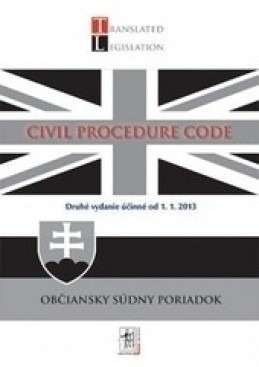 Civil Procedure Code (účinný od 1.1.2013)