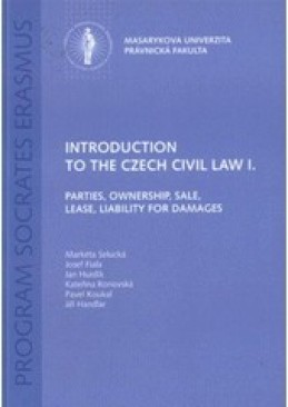 Introduction to the Czech Civil Law I.