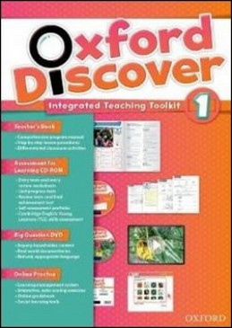 Oxford Discover 1 Teacher´s Book with Integrated Teaching Toolkit