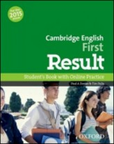 Cambridge English First Result Student´s Book with Online Practice Test