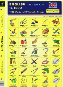 English - Find the Pair 12. (Tools)
