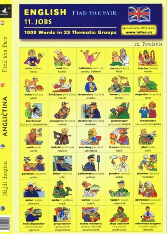 English - Find the Pair 11. (Jobs)