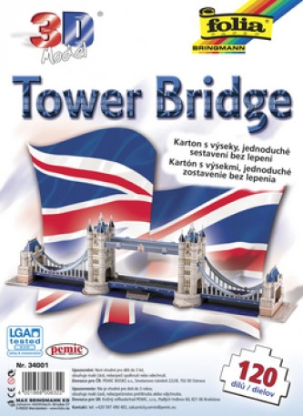 3D model Tower Bridge