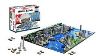 4D City Puzzle Hong Kong