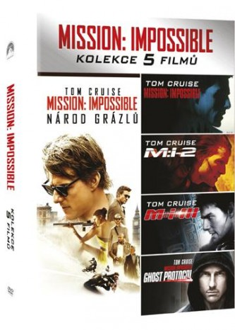 Mission: Impossible kolekce 1-5
