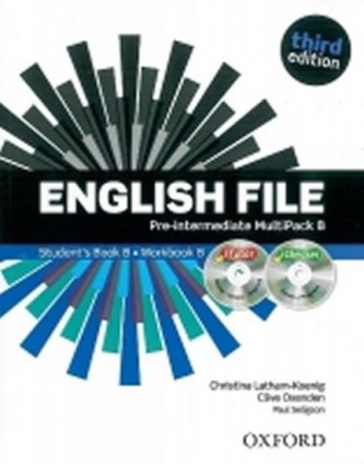 English File Third Edition Pre-intermediate Multipack B - Oxenden Clive, Latham-Koenig Christina,