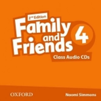 Family and Friends 2nd Edition 4 Class Audio 2 CDs