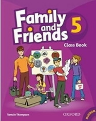 Family and Friends 5 Course Book with MultiRom Pack
