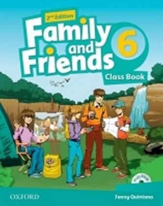 Family and Friends 2nd Edition 6 Course Book with MultiROM Pack