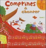 Comptines a chanter, m. Audio-CD. Vol.1
