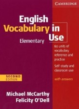 English Vocabulary in Use, Elementary, with answers (Second edition)