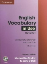 English Vocabulary in Use, Elementary (with answers), w. CD-ROM
