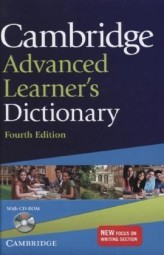 Cambridge Advanced Learner's Dictionary, w. CD-ROM