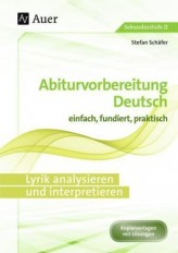 Lyrik analysieren und interpretieren