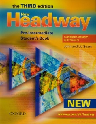 New Headway Pre-Intermediate Third edition Student´s Book with czech wordlist - John a Liz Soars