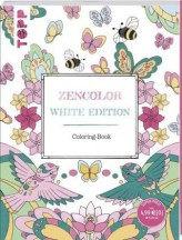 Zencolor. White Edition. Coloring-Book