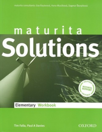 Solutions elementary workbook Czech edittion