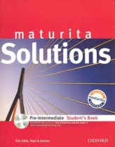 Solutions pre-intermediate student´t book + CD CZedition