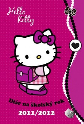 Hello Kitty Diár na školský rok 2011/2012